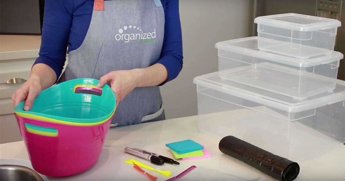 Organized by Ellis - 6 Under 6: Six Organizing Tools Under Six Bucks
