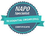 Organized by Ellis - NAPO - Residential Specialist