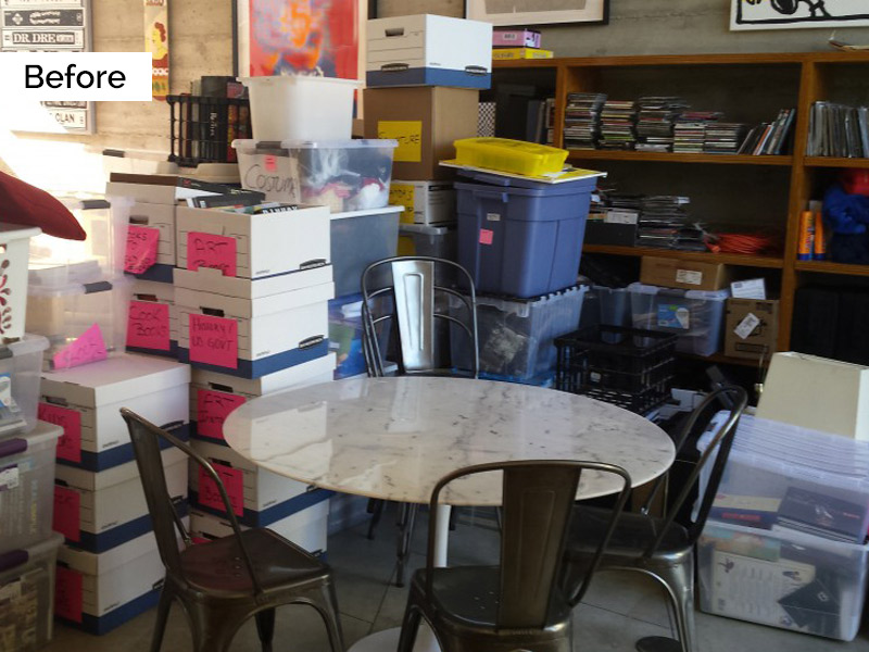 Organized by Ellis - Moving Before