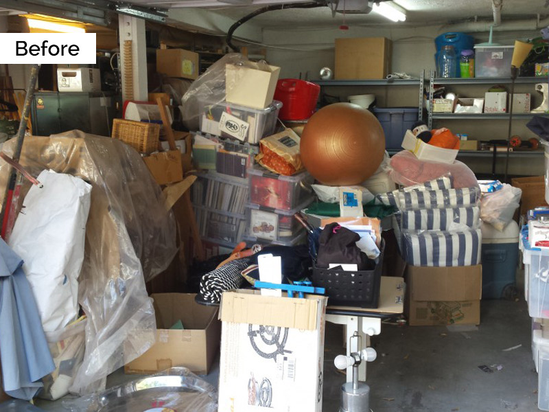 Organized by Ellis - Garage Before