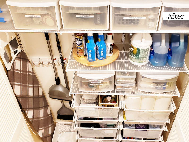 Organized by Ellis - Pantry After