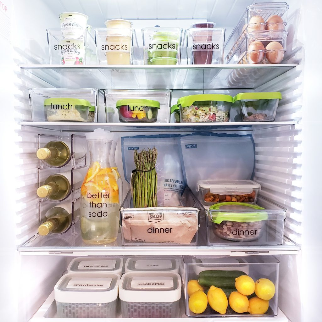 Organized refrigerator featured image