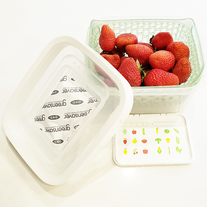 OXO refrigerator berries